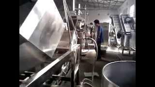 линия производства прянного арахиса