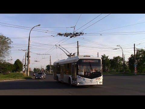 Тольяттинский троллейбус Московский проспект