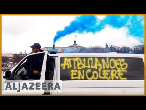 🇫🇷French paramedics, students join 'yellow vest' protests | Al Jazeera English