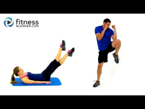 No Burpee HIIT Cardio and Abs Workout -- Fat Burning Bodyweight Cardio without Burpees from YouTube · Duration:  33 minutes 53 seconds