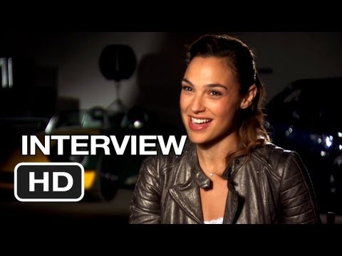 Fast & Furious 6 Interview - Gal Gadot (2013) - Dwayne Johnson Movie HD