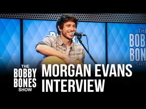 """Morgan Evans On His New Song """"Love Is Real"""" & Growing Up Singing American Music"""