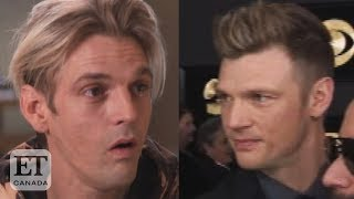 Aaron Carter Reacts To Nick Carter Restraining Order
