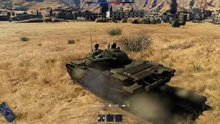 War Thunder - T-62 Gameplay - Middle Eastrb