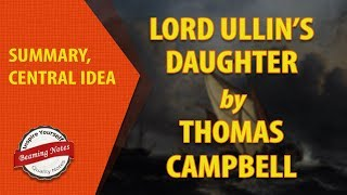 Summary of Lord Ullin's Daughter by Thomas Campbell