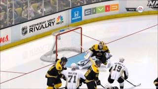 NHL 14 - Pittsburgh Penguins vs. Boston Bruins Gameplay [HD]