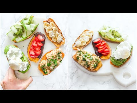 5 SWEET POTATO TOAST Recipes! Easy and Quick!