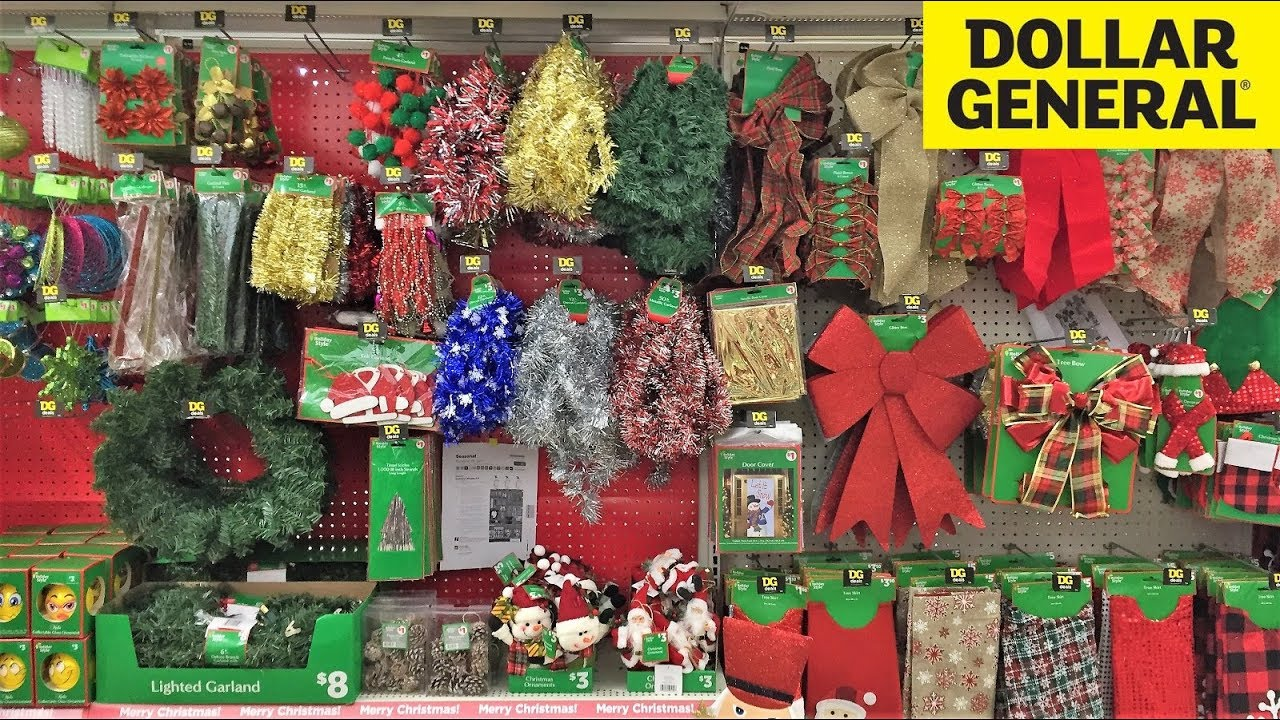 christmas 2018 items at dollar general christmas decorations ornaments home decor shopping