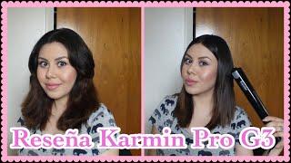 Revisión plancha para el cabello Karmin Pro G3