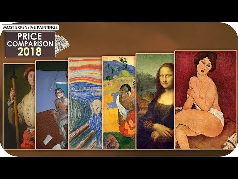 Painting Price Comparison 2018 (Most Expensive Paintings)