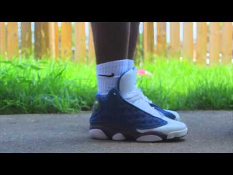 "Air Jordan ""Flint"" 13 w/ On Foot"