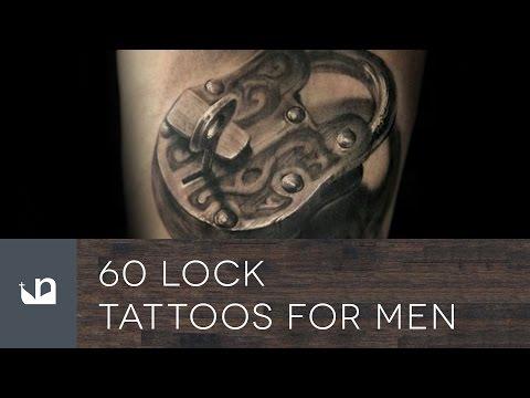 60 Lock Tattoos For Men