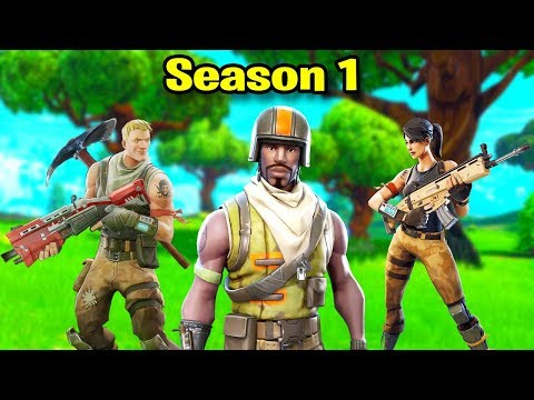 Fortnite SEASON 1 Montage #2