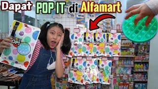 BERBURU POP IT SERU DI ALFAMART ! MODEL BENTUK NYA BEDA DENGAN DI PASAR ! Auto Borong..