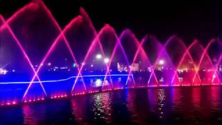 Lahore Dancing Fountains ][ Performing on