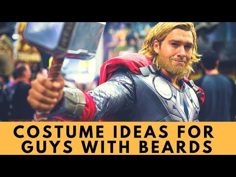 Halloween Costume Ideas for Guys with Beards: TV, Movie, & Video Game Characters