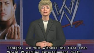 WWE Smackdown Shut Your Mouth: Brock Lesnar Season Mode: Pt. 1: WWE Draft & April 2002
