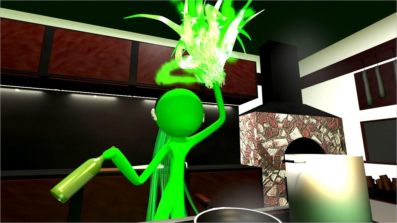 棒人間で魔法の料理! - Green Roulette -