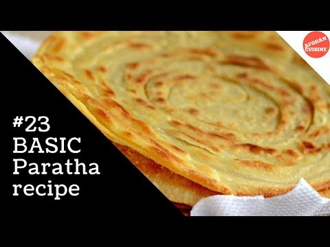Paratha recipe - Ramadan Special 'Afghan Cuisine'