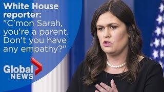 Sarah Sanders uses Bible to defend Trump's child separation policy at border
