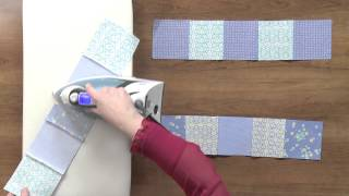 Chain Piecing & Pressing Opposing Seams: Quilting Tips