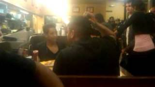 DeRay at Waffle House in Richmond