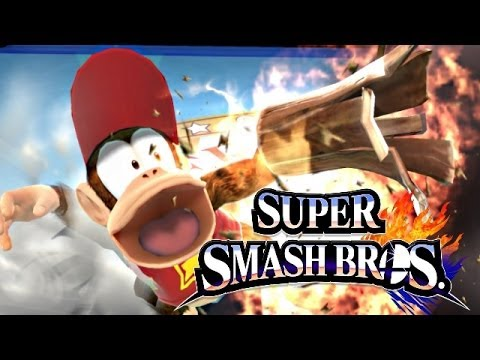Super Smash Bros 4 Wii U / 3DS Diddy Kong CONFIRMED! - YouTube