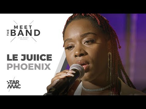 Youtube: Le Juiice • MEET THE BAND • Phoenix