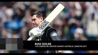 vuclip Ross Taylor's Century (107) vs Australia | Australia vs New Zealand - 3rd ODI - TWITTER HIGHLIGHT