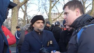 ***Must Watch*** P1 - Changing Nature!? Hashim vs Christian l Speakers Corner l Hyde Park