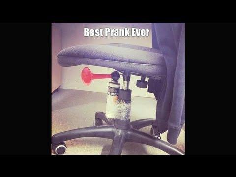 fice Prank Air horn chair
