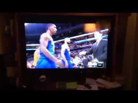 J.R. Smith game winner Vs. Bobcats 12/5/12