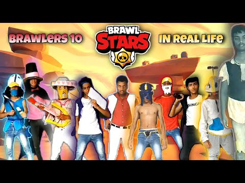 Brawl Stars In Real Life. All 10 Brawlers Real Life.