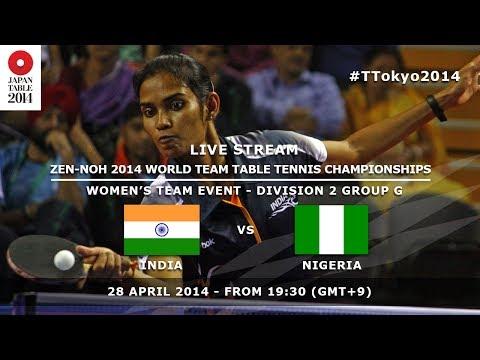 #TTokyo2014: India - Nigeria