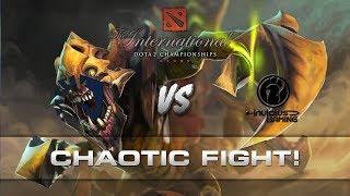 Dota 2 TI7 - Chaotic fight!