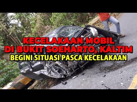 KECELAKAAN Beruntun di Bukit Soeharto - Kaltim!!