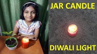 Making a Jar Candle | Diwali Light