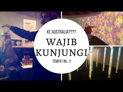 Berwisata ke The National Museum of Australia, Canberra #Vlog 9