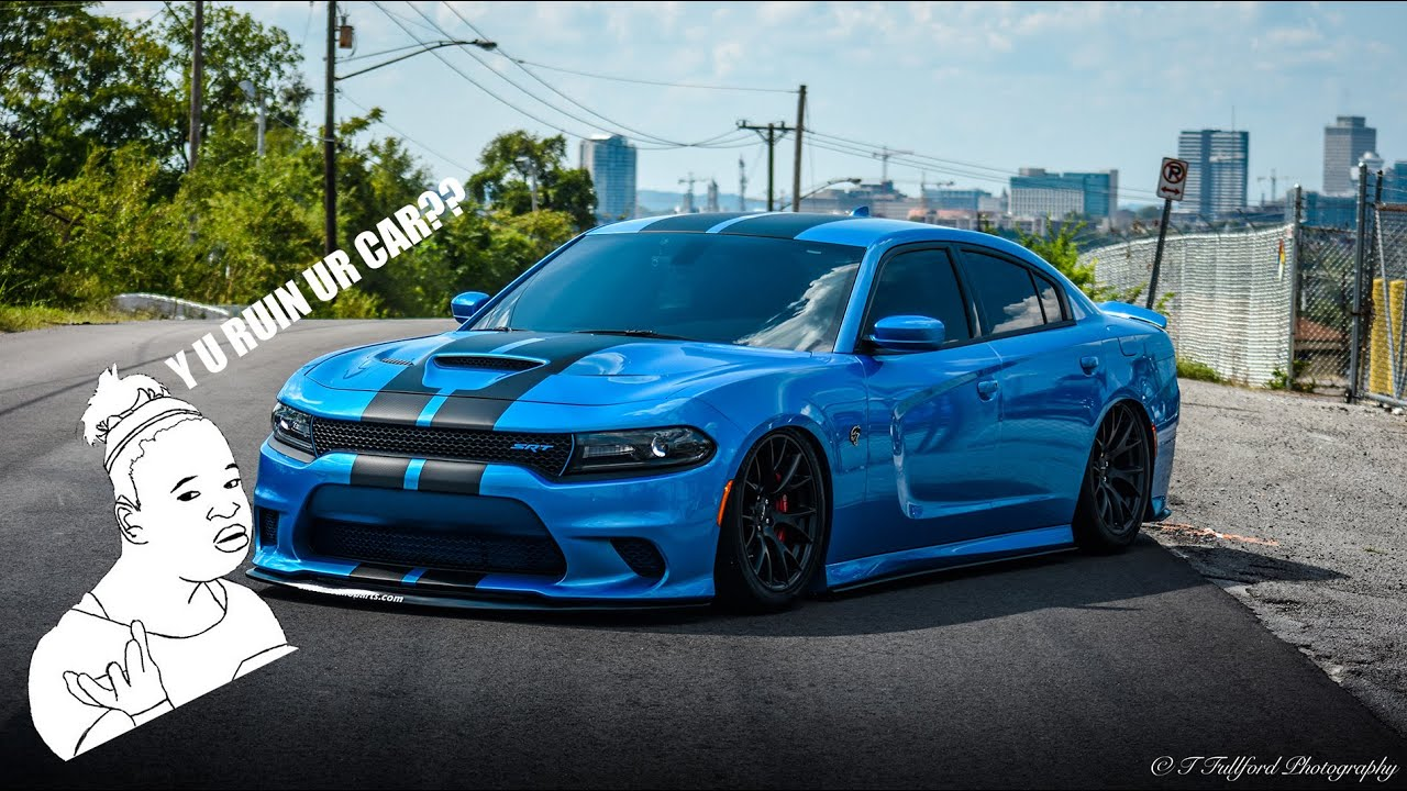 Charger Srt Hellcat >> Mod run down and details on the air ride for the Hellcat ...