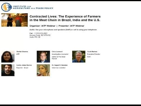Contracted Lives: The Experience of Farmers in the Meat Chain in Brazil, India and the U.S.