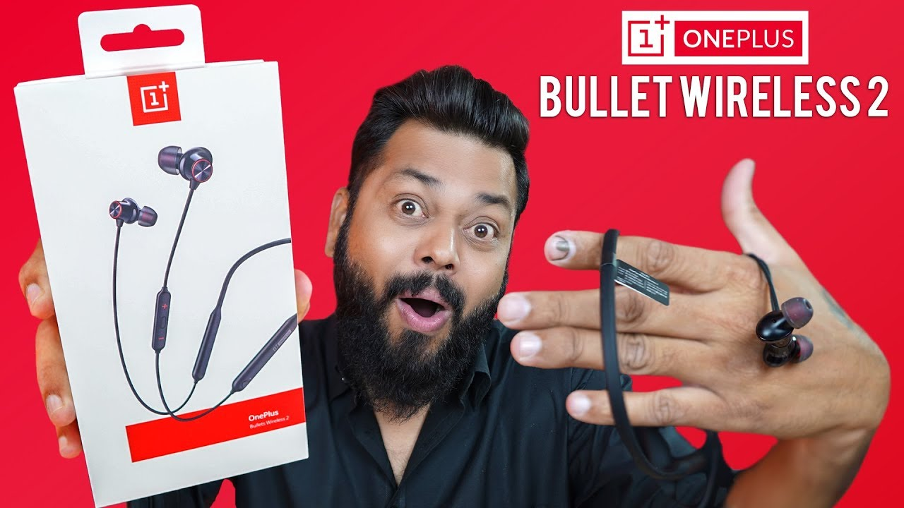 153e6c0fa96 OnePlus Bullets Wireless 2 Earphones Unboxing & Quick Review ...