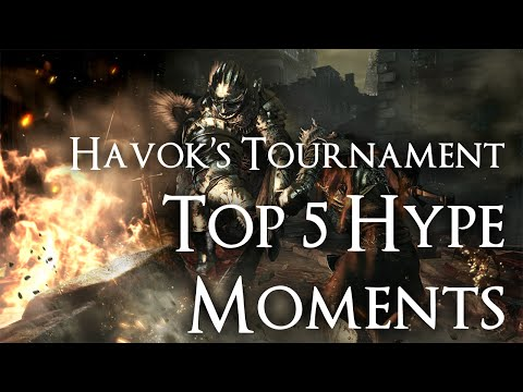 Top 5 Hype Moments- Dark Souls 3 PC Tournament