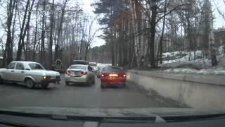 Авария на Грузинке
