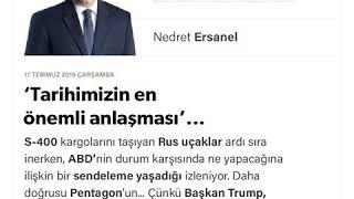 Nedret Ersanel - 'Tarihimizin en önemli anlaşması'... - 17.07.2019
