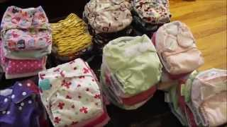 Cloth Diaper Stash!