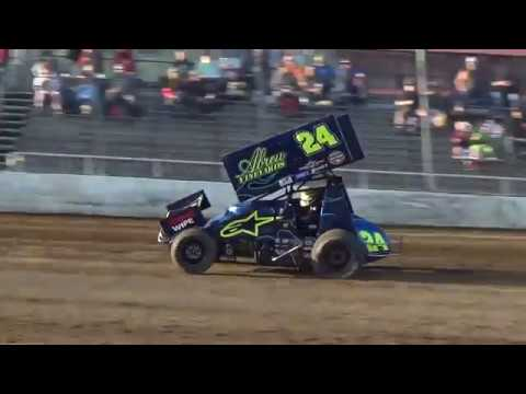 Grays Harbor Raceway, September 3, 2018, World of Outlaws Qualifying