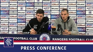 PRESS CONFERENCE | Gerrard and Barisic | 10 Aug 2018
