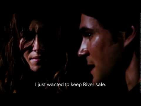 Firefly / Serenity scene with Kaylee and Simon