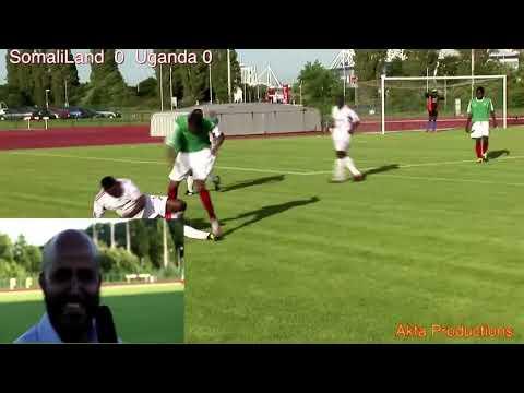 Somaliland V Uganda in Cardiff...........