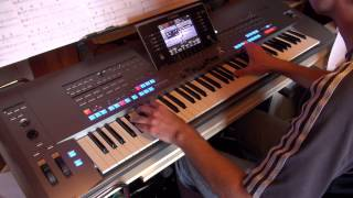 Why should I cry for you. By Sting. In live on Yamaha Tyros 5